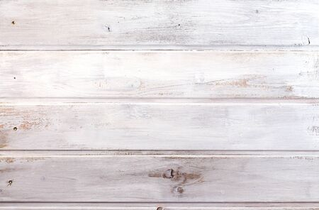 White wooden background - wood texture