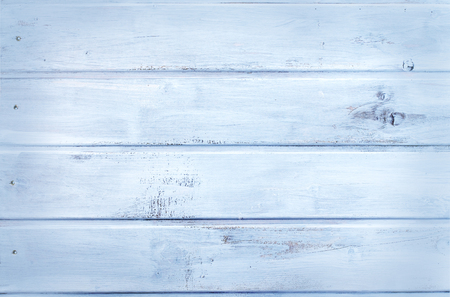 Wooden background - light blue - wood texture Stok Fotoğraf - 91864041