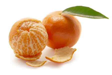 Mandarines isolated
