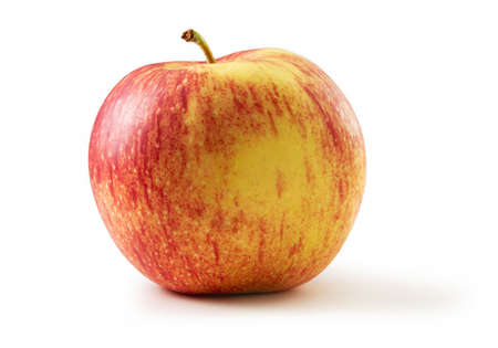 Jonagold apple isolated against white background Stok Fotoğraf