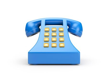 Retro telephone Stock Photo - 6538747