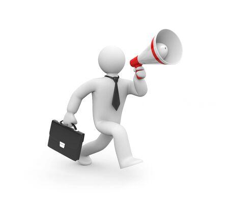 simbolo uomo donna: Concetto di comunicazione aziendale