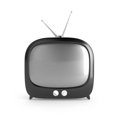 Stylish retro TV. More TV in my portfolio Stock Photo - 6895117