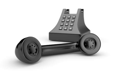 Retro telephone Stock Photo - 8537307