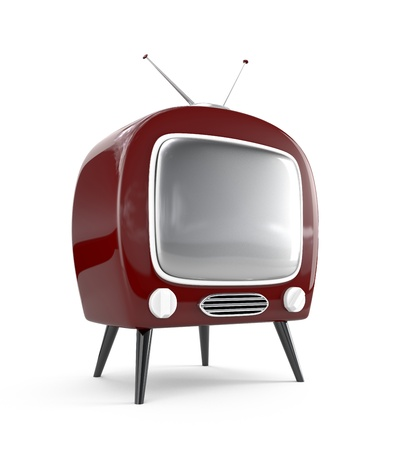 Retro TV Stock Photo - 8537321