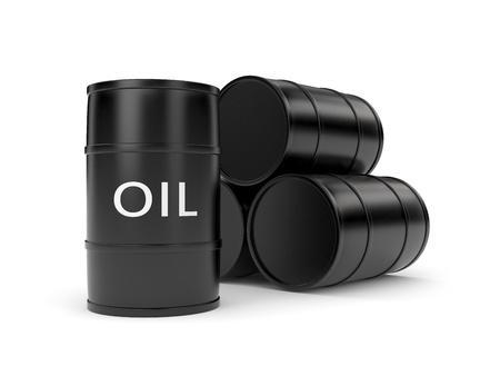 Oil barrels Stock Photo - 8682187