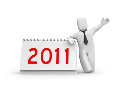 New year metaphor photo