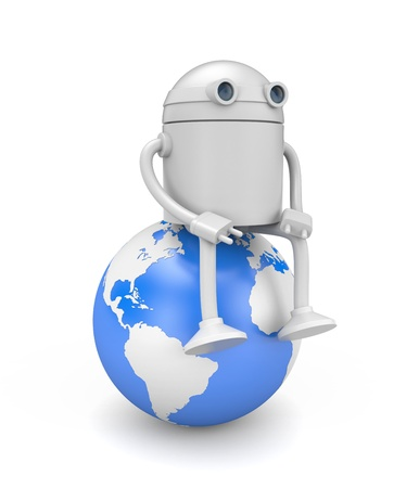 jackplug: Technology concept Stock Photo