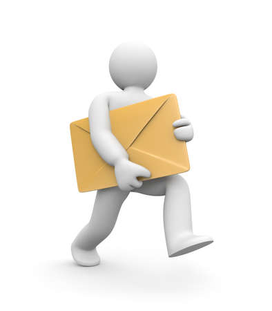 Postman Stock Photo - 8957317