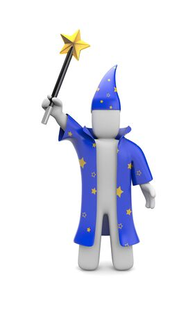 merlin: Wizard Stock Photo