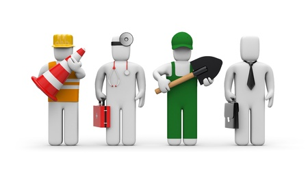 healthcare workers: Workers Stock Photo