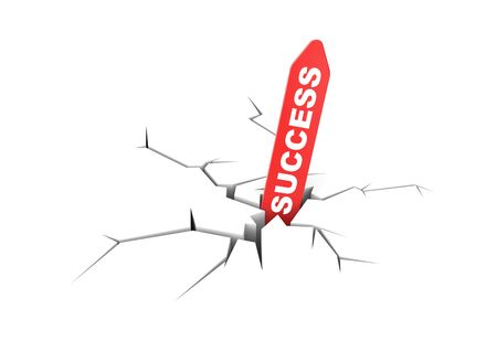 beat the competition: Success metaphor