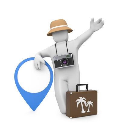 panama: Travel metaphor. Image contain clipping path Stock Photo