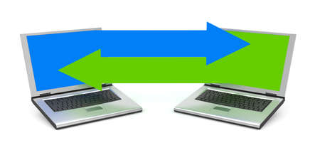 communication metaphor: Communication metaphor. Image contain clipping path