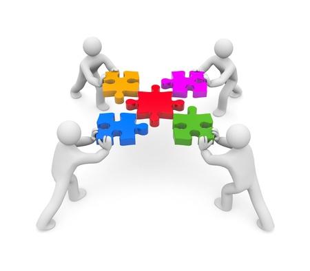 sociedade: Success concept. Image contain clipping path