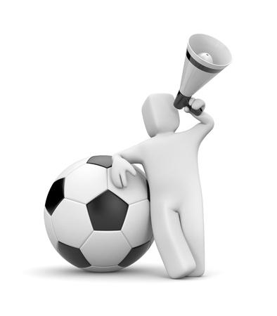 Sport metaphor. Isolated on white photo