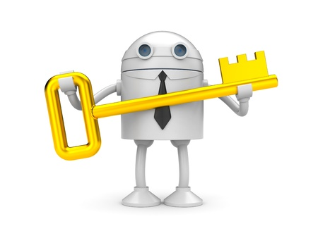 jackplug: Business metaphor. Isolated on white