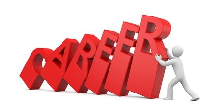 predicament: Business concept. Image contain clipping path Stock Photo