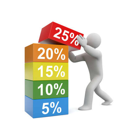 Sale concept. Image contain clipping path Stock Photo - 12284218