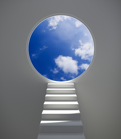 Aspiration to sky Stock Photo - 12284220