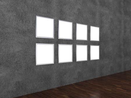 photorealism: Interior design concept
