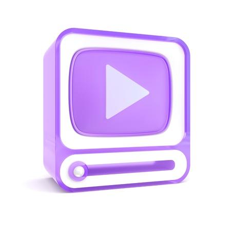 3d Video player photo