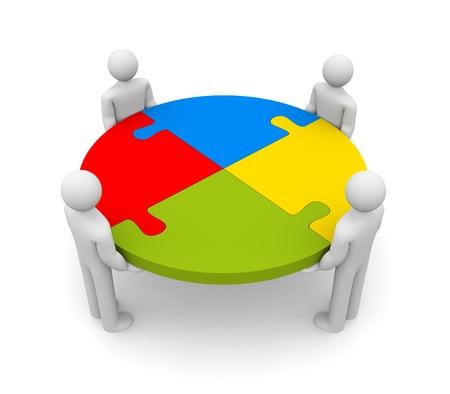 Partnership  Image  photo