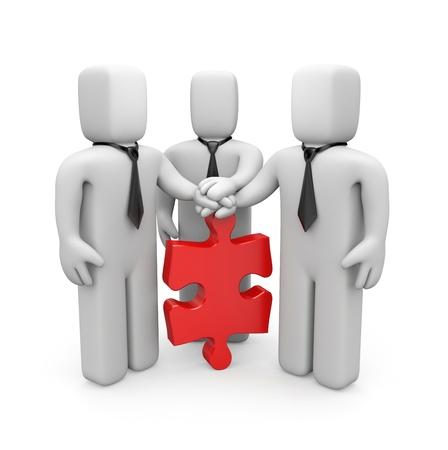 consensus: Partnership  Stock Photo