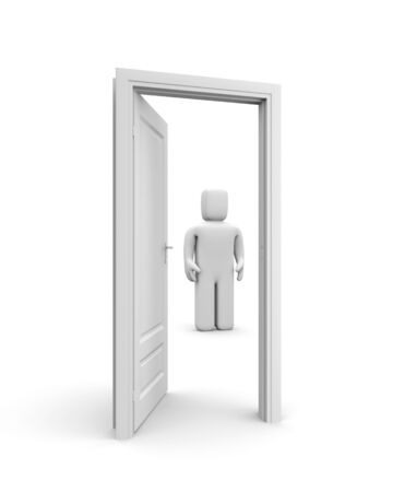 Opened door Stock Photo - 13592288