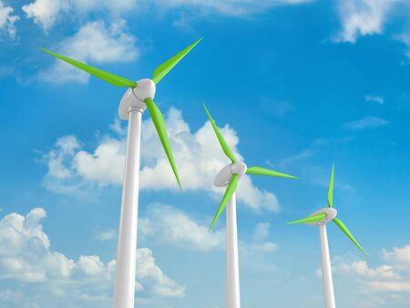 windmill concept Stock Photo - 13930966