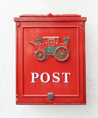 Red postbox  Travle on Norway photo