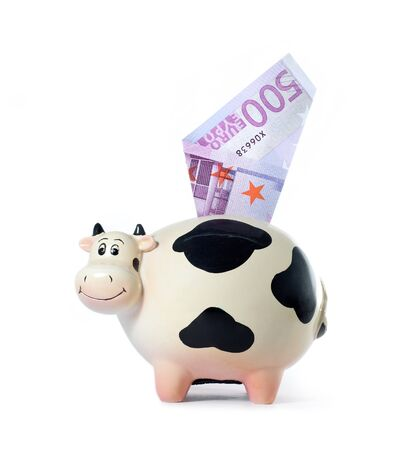 cash box:  Cow  symbol of 2009 year
