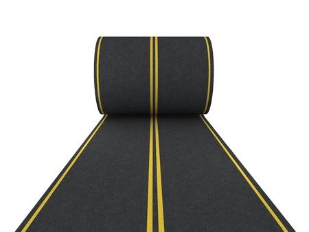 Transport-Konzept auf weiß isoliert Standard-Bild