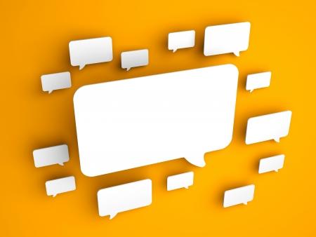 Communication concept  Conceptual image  Background photo