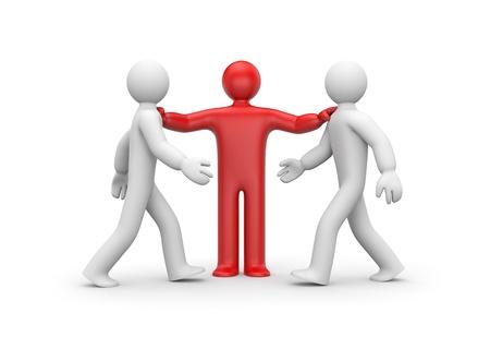 conflict: Negotiator Stock Photo