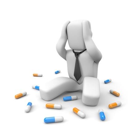 druggie: Business concetto Archivio Fotografico
