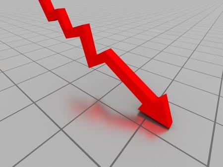 Business concept crise Banque d'images