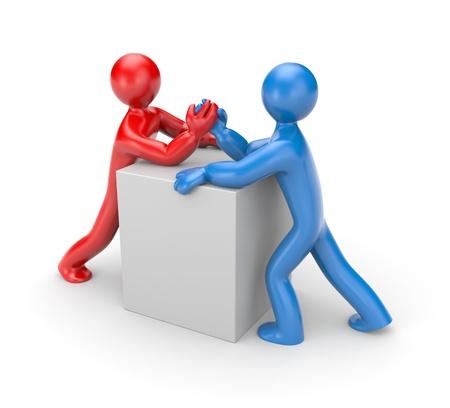 conflicto: Desaf�o met�fora
