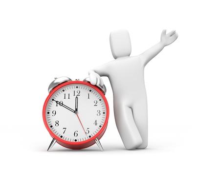 clockface: Time concept
