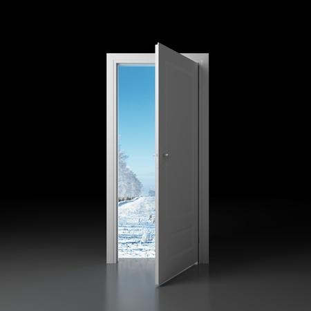 new way: Door to winter