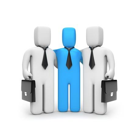 business partner: Business team