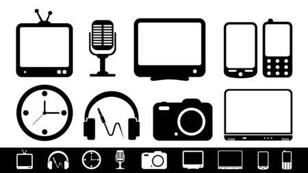 camera phone: Business concept  Isolated on white