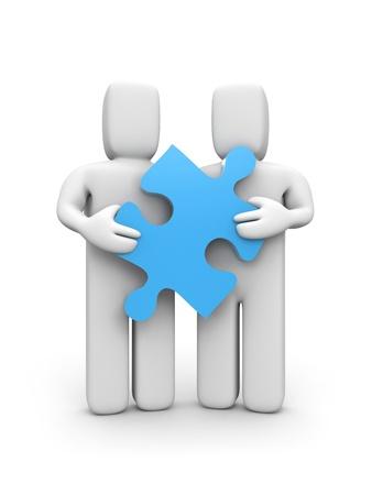 merge: Success concept