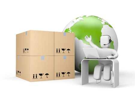 Transport et shiping Banque d'images