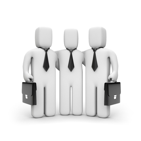 briefcase icon: Business team
