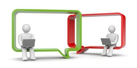 Communication concept Stockfoto