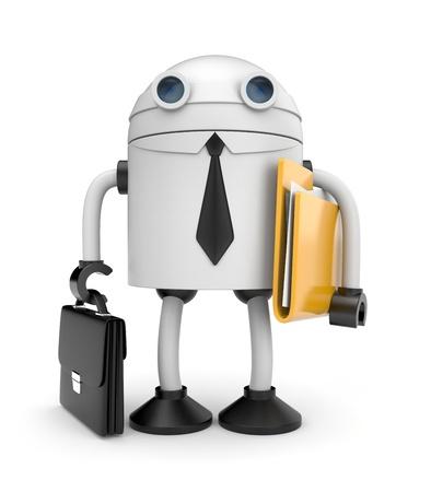 Robot worker Stockfoto