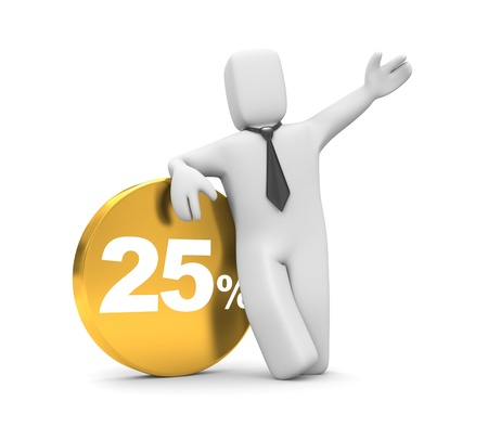 Discounts Stock Photo