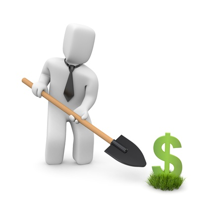 soil conservation: Business concept