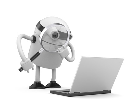 search query: Robot at work